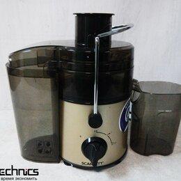 Кухонные комбайны и измельчители - Соковыжималка Scarlett SC-JE50S34 800Вт (OEM), 0