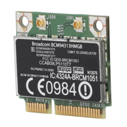 Оборудование Wi-Fi и Bluetooth - Модуль Wi-Fi/Bluetooth HP G7-1000 (BCM94313HMGB…, 0