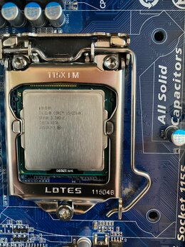 Процессоры (CPU) - Продаю процессор Intel i5 2500k, 0