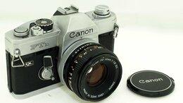 Пленочные фотоаппараты - Фотоаппарат Canon FTb с объективом Canon Lens FD…, 0