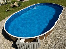 Бассейны - Сборный бассейн Azuro 405dl овальный 7.3 х 3.7 х…, 0