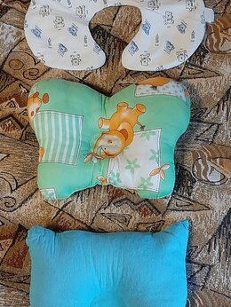 Постельное белье - Ортопедическая надувная подушка для новорожденного, 0