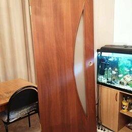 Межкомнатные двери - Дверь полотно, 80х200х4см, без коробки., 0