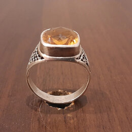 Кольца и перстни - Печатка  с камнем ( серебро 925), 0