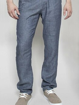 Джинсы - Летние брюки джинсы W5764 DENIM_BLUE, 0