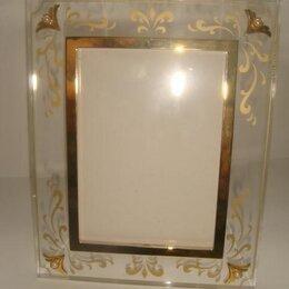 Фоторамки - Рамка для фото с жемчугом Mikimoto винтаж 90х годов новая, 0