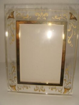 Фоторамки - Рамка для фото с жемчугом Mikimoto винтаж 90х…, 0