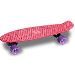 Скейтборды и лонгборды - Круизер INDIGO LS-206-D 56,5*15 см Фуксия, 0
