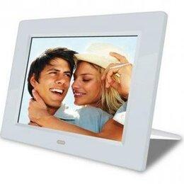 Цифровые фоторамки и фотоальбомы - Новая Фоторамка 7'' Digma PF-730, 0