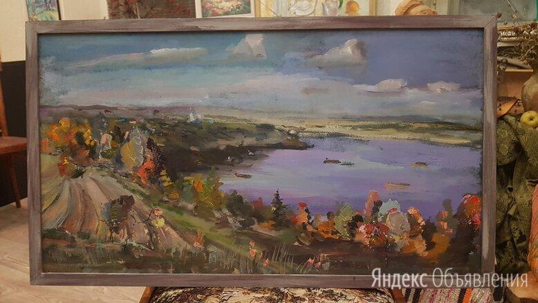 Картина маслом на оргалите пейзаж по цене 8000₽ - Картины, постеры, гобелены, панно, фото 0