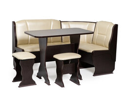 Мебель для кухни - Кухонный уголок Орхидея кож зам 101, 0