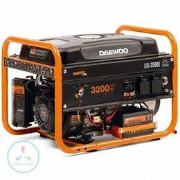 Электрогенераторы - Бензиновый генератор Daewoo GDA 3500E, 0