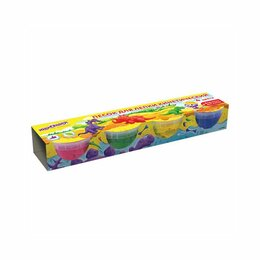 Лепка - Песок для лепки кинетический ЮНЛАНДИЯ, 4 цвета, 560г, формочка, картонный рукав, 0
