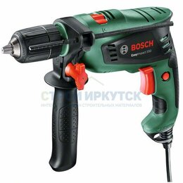 Дрели и строительные миксеры - Ударная дрель Bosch EasyImpact 550 (0603130020), 0