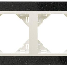 Фоторамки - 4-х местная рамка, натуральный гранит / лёд, Efapel, 0