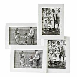 Фотоальбомы - Рамка для фотографий ЧЕТЫРЕ МГНОВЕНИЯ, 33х35х3,5…, 0
