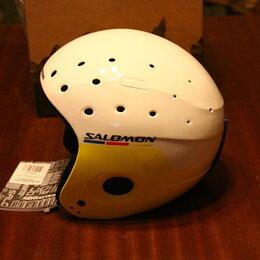 Шлемы - Новый, юниорский шлем SALOMON EQUIPE JR. c дугой, р. 55-58, 0