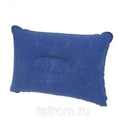 Надувные игрушки - Tramp Lite подушка надувная под голову TLA-006 (синий), 0