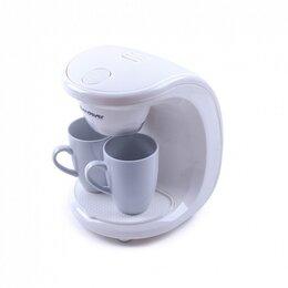 Кофеварки и кофемашины - Кофеварка капельного типа Endever Costa-1040 белый, 0