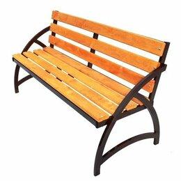 Скамейки - Лавочки из металла и дерева по индивидуальным заказам, 0