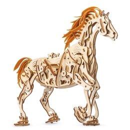 Игровые наборы и фигурки - Конструктор 3D-пазл Ugears - Конь-Механоид, 0