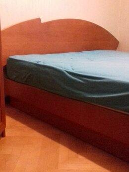 Кровати - Кровать 180х200 из дуба с ортопедическим…, 0