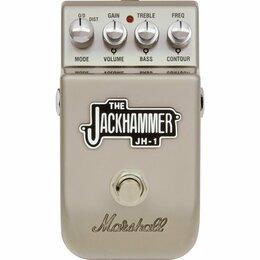 Процессоры и педали эффектов - гитарная педаль Marshall jh-1 jackhammer…, 0