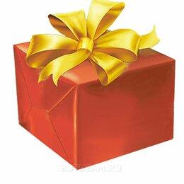 Подарочная упаковка - Упаковка среднего подарка до 40 см с бантиком 3 см, 0