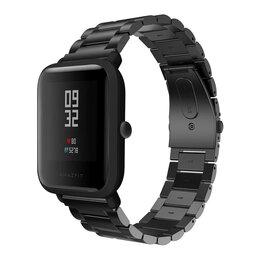 Ремешки для умных часов - Металлический ремешок для Xiaomi Amazfit Bip, 0