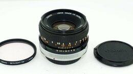 Объективы - Объектив Canon Lens FD 1:1,8 50mm S.C  , 0