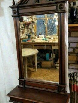 Зеркала - Старинное зеркало с полкой, 0