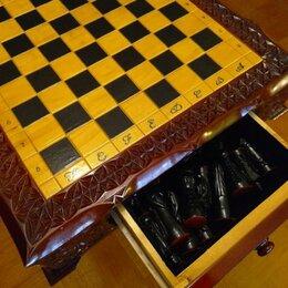 Настольные игры - Шахматы коллекционные ручной работы, 0