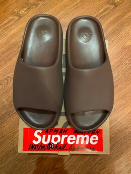 Шлепанцы - Adidas Yeezy Slide Soot by Kanye West, 0