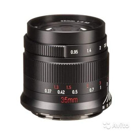 Объективы - Объектив 7artisans 35mm F0.95 Nikon-Z, 0