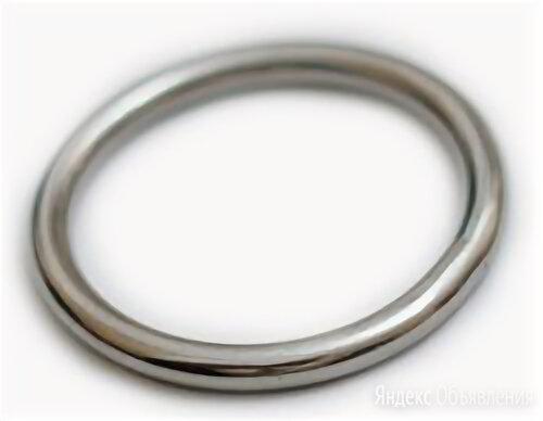 S+P Круглое сварное полированное кольцо ART 8229 8х50 мм по цене 254₽ - Кольца и перстни, фото 0