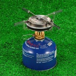 Туристические горелки и плитки - Газовая горелка туристическая газовая плита, 0