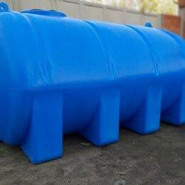 Баки - Пластиковая емкость 10000 литров. Горизонтальная, 0