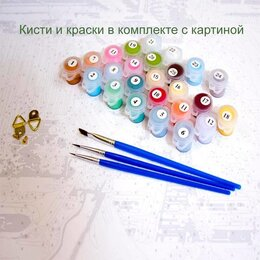Раскраски и роспись - Картина по номерам 40*50 в ассортименте PAINTBOY, 0