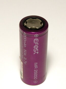 Аккумуляторы и зарядные устройства - Аккумулятор 26650, 0
