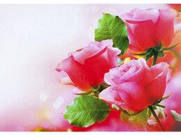 Скатерти и салфетки - Скатерть салфетка на стол 60х90 см Розы, 0
