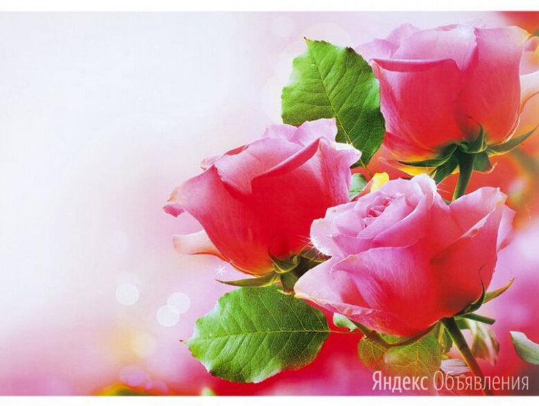 Скатерть салфетка на стол 60х90 см Розы по цене 250₽ - Скатерти и салфетки, фото 0