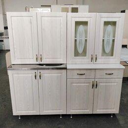 """Мебель для кухни - Кухня мдф 160см """"Констанция сандал"""", 0"""
