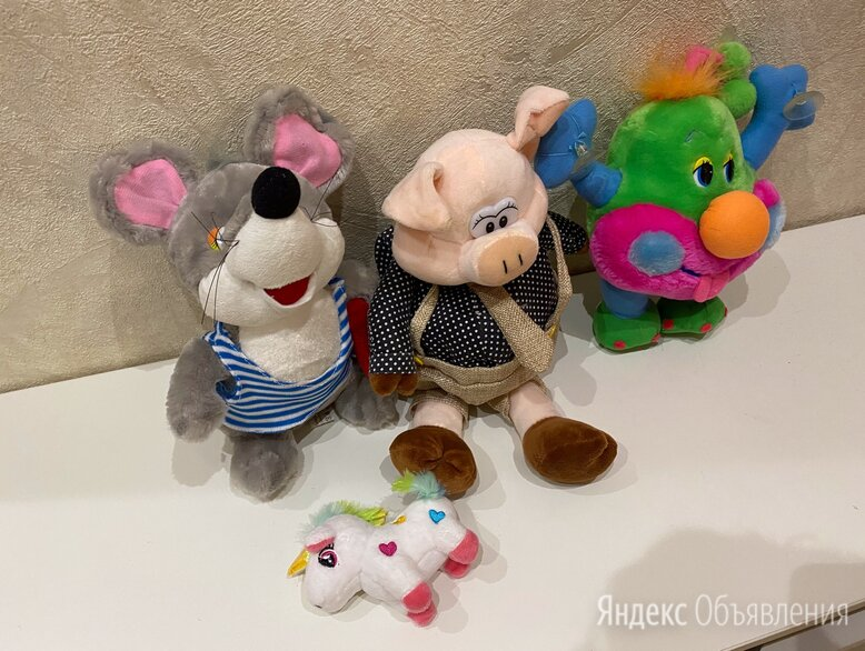 Мягкие игрушки по цене 100₽ - Мягкие игрушки, фото 0
