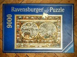 Пазлы - Паззл Ravensburger 9120 деталей 192х138 см Карта…, 0
