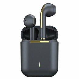 Наушники и Bluetooth-гарнитуры - Беспроводные наушники TWS Earbuds J18 Black с шумоподавлением, 0