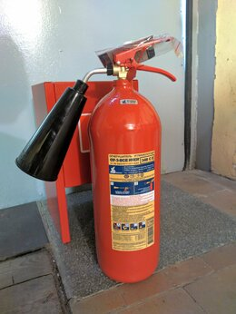 Противопожарное оборудование - Огнетушитель иней оу-3 все, 0