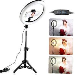 Осветительное оборудование - Новая кольцевая лампа 31см со штативом, 0