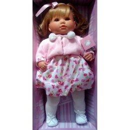 Куклы и пупсы - Berbesa Кукла 42см Сандра Испания Новая, 0