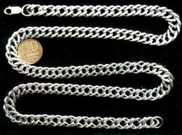 Цепи - Серебряная цепь Двойной Ромб.Вес 50 грамм,длина…, 0