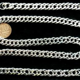 Цепи - Серебряная цепь Двойной Ромб.Вес 50 грамм,длина 60 см, 0